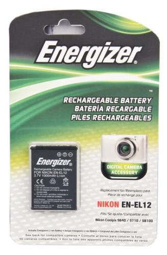 Energizer ENB-NEL12 camera/camcorder battery Lithium-Ion (Li-Ion) 1000 mAh