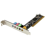 StarTech.com 5.1 kanaals PCI surround sound-kaartadapter