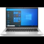 """HP EliteBook 830 G8 DDR4-SDRAM Notebook 13.3"""" 1920 x 1080 pixels 11th gen Intel® Core™ i5 8 GB 256 GB SSD Wi-Fi 6 (802.11ax) Windows 10 Pro Silver"""