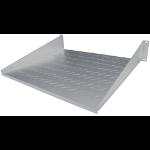 "Intellinet 19"" Cantilever Shelf, 2U, 2-Point Front Mount, 400mm Depth, Vented, Grey"