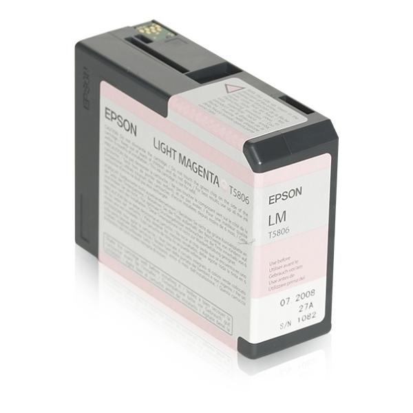Epson C13T580600 (T5806) Ink cartridge bright magenta, 80ml