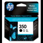 HP 350 Origineel Zwart 1 stuk(s)