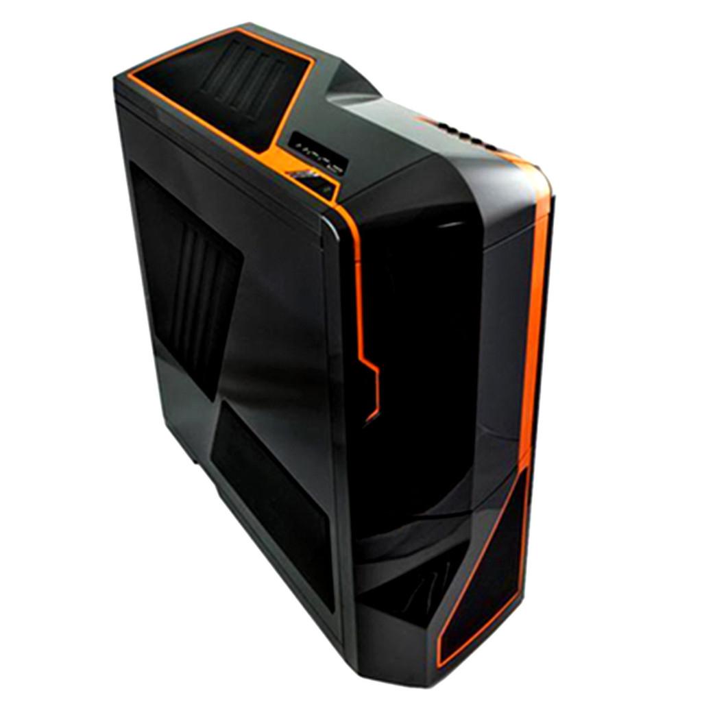 NZXT RB-PHAN-002OR Full-Tower Black,Orange computer case