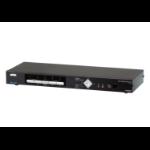 Aten CM1284 interruptor KVM Montaje en rack Negro
