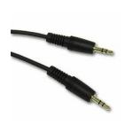 Rose 3.5mm, M-M, 20 ft audio cable 6 m Black