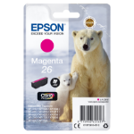 Epson C13T26134012 (26) Ink cartridge magenta, 300 pages, 5ml