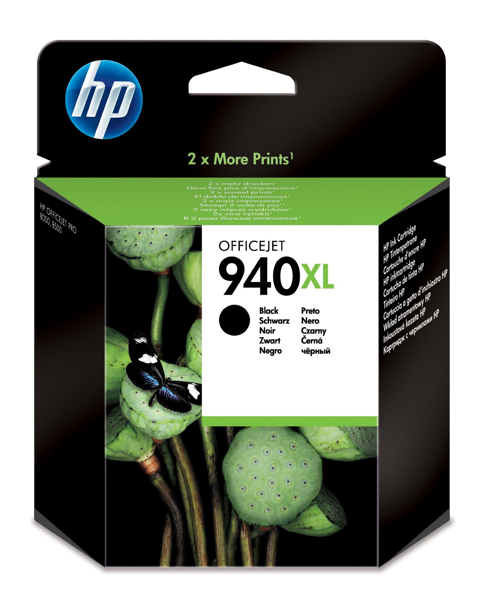 HP 940XL Original Zwart 1 stuk(s)