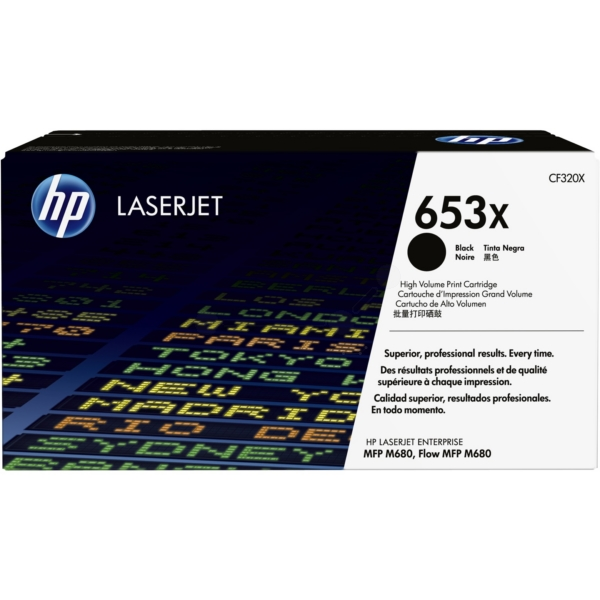 HP CF320X (653X) Toner black, 21K pages