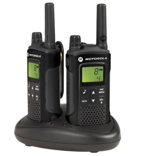 Motorola XT180 two-way radio 8 channels 446 MHz Black