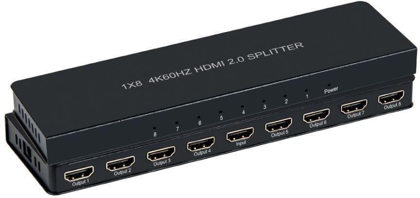 Microconnect MC-HMSP108S video splitter HDMI 8x HDMI