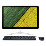 """Acer Aspire Z24-880-UR12 3.4GHz i3-7100T 23.8"""" 1920 x 1080pixels Touchscreen Black, Silver All-in-One PC"""