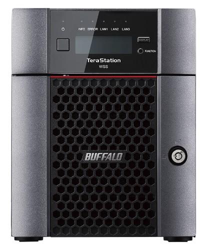 Buffalo TeraStation WS5420DN Ethernet LAN Desktop Black Storage server