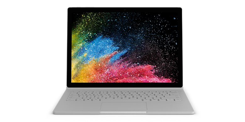"Microsoft Surface Book 2 Hybrid (2-in-1) Silver 34.3 cm (13.5"") 3000 x 2000 pixels Touchscreen 8th g"