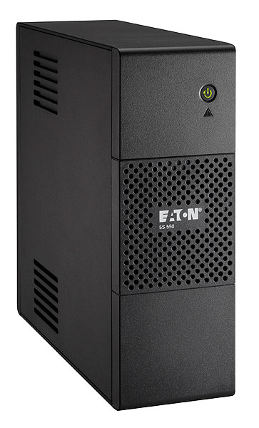 Eaton 5S 550i 550VA 4AC outlet(s) Tower Black uninterruptible power supply (UPS)
