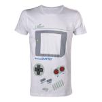 Nintendo Original Men's Classic Gameboy Interface Extra Large T-Shirt, White (TS252527NTN-XL)