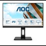 """AOC P2 Q27P2Q LED display 68.6 cm (27"""") 2560 x 1440 pixels Quad HD Black"""