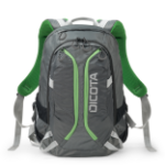 Dicota D31221 backpack Polyester Green,Grey