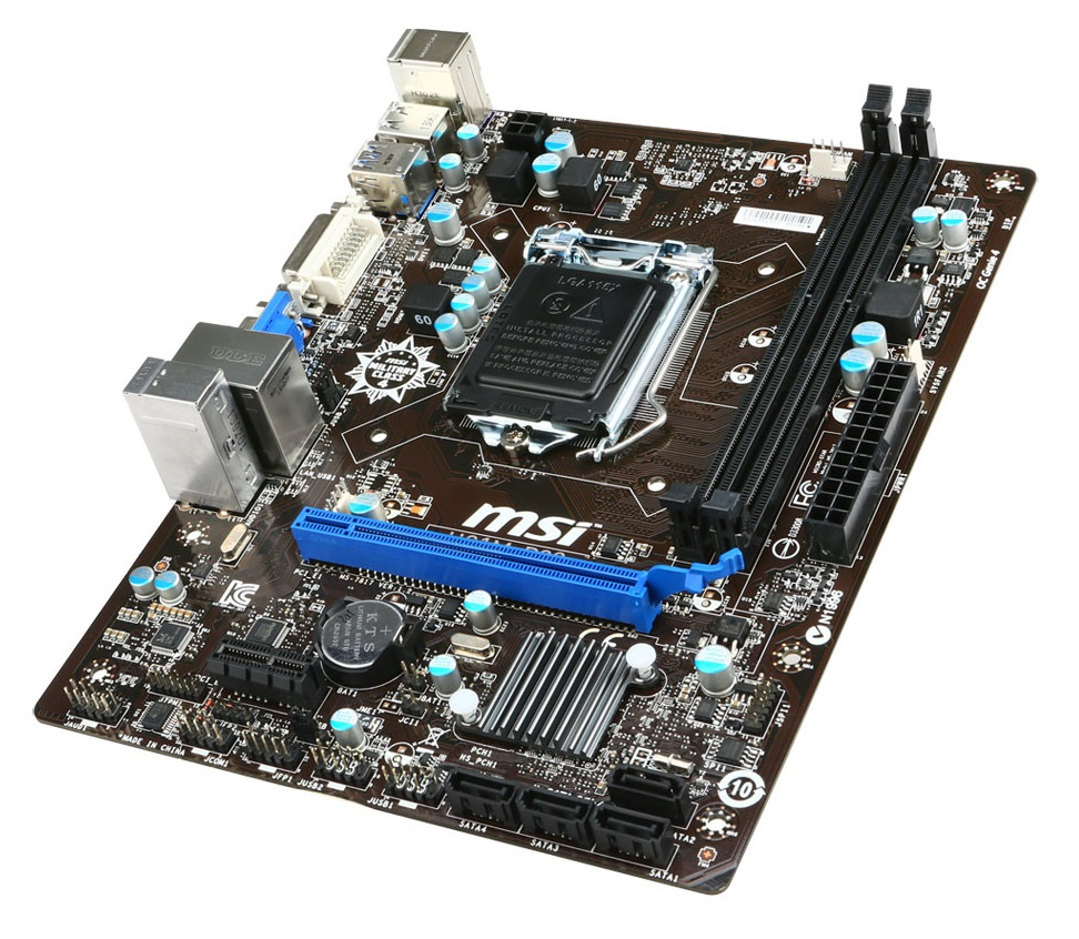MSI H81M-P33, DDR3-SDRAM