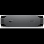 HP Z2 Mini G5 W-1250 mini PC Intel® Xeon® W 16 GB DDR4-SDRAM 1000 GB SSD Windows 10 Pro Arbeitsstation Schwarz, Grau
