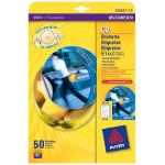 Avery C9660-25 printer label White CD/DVD