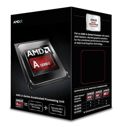 AMD A series A6-6400K 3.9GHz 1MB L2 Box processor