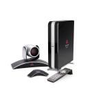 POLY HDX 6000 video conferencing system Ethernet LAN