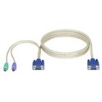 Black Box EHN70001-0006 KVM cable 1.8 m White