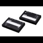 ATEN VE1830 AV extender AV transmitter & receiver Black