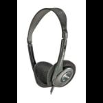 Maxell HP-100 Headphones Head-band Black