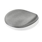 StarTech.com Wrist Rest - Ergonomic - Sliding - Silver