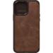 OtterBox Strada Folio Series para Apple iPhone 13 Pro Max, Espresso Brown