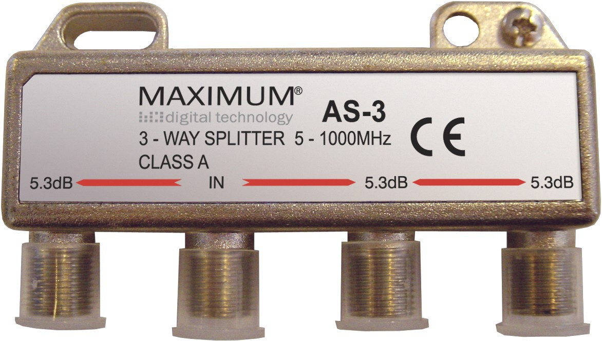 Maximum AS-3 Cable splitter Stainless steel