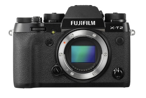 Fujifilm X-T2 Body MILC Body 24 MP CMOS III 6000 x 4000 pixels Black