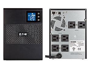 Eaton 5SC750 750VA Tower Black uninterruptible power supply (UPS)