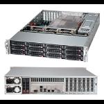 Supermicro CSE-826BE16-R920LPB Rack 920W Black computer case