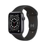 Apple Watch Series 6 OLED 44 mm Gris GPS (satélite)