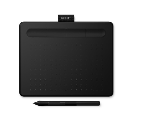 Wacom Intuos S graphic tablet 2540 lpi 152 x 95 mm USB Black