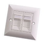 Videk 4296 wall plate/switch cover White