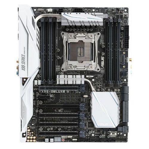 ASUS X99-DELUXE II Intel X99 2011-3 ATX DDR4 SLI/XFire M.2 U.2 Wi-Fi Btooth RGB Support