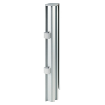 Atdec SP40SW Desk Post Accessory, 15.75-Inch or 400mm, Silver and White