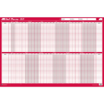 Sasco 2410140 wall planner Pink,White 2021