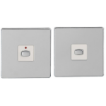 EnerGenie MIHO045 light switch Chrome, White