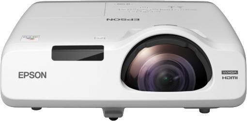 Epson EB-525W Desktop projector 2800ANSI lumens 3LCD WXGA (1280x720) White data projector