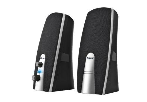 Trust MiLa 2.0 Speaker Set loudspeaker 5 W Black,Silver Wired