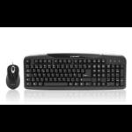Acteck AK2-2300 PS/2 Negro teclado