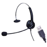 EDIS EC145 headphones/headset Head-band Black USB Type-A