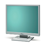 "Fujitsu SCENICVIEW Series A19-3A 19"" Ivory computer monitor"