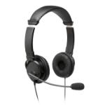 Kensington K97603WW headphones/headset Head-band 3.5 mm connector Black