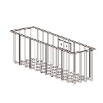Ergotron Mobile Series Wire Storage Basket