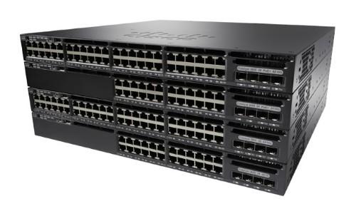 Cisco Catalyst WS-C3650-48TD-S network switch Managed L3 Gigabit Ethernet (10/100/1000) Black 1U